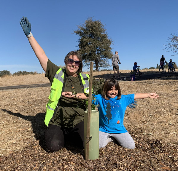 Tree planters at Maidu 2020