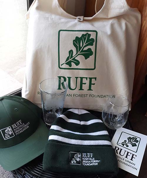 Item 1 - RUFF Bag Hats Glasses Bumper sticker