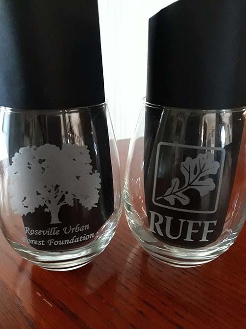 Item 4 - RUFF Wine Glasses